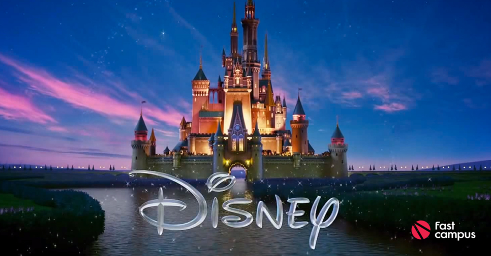 disney's representative image. castle. the image shows their identity. youth and dream.