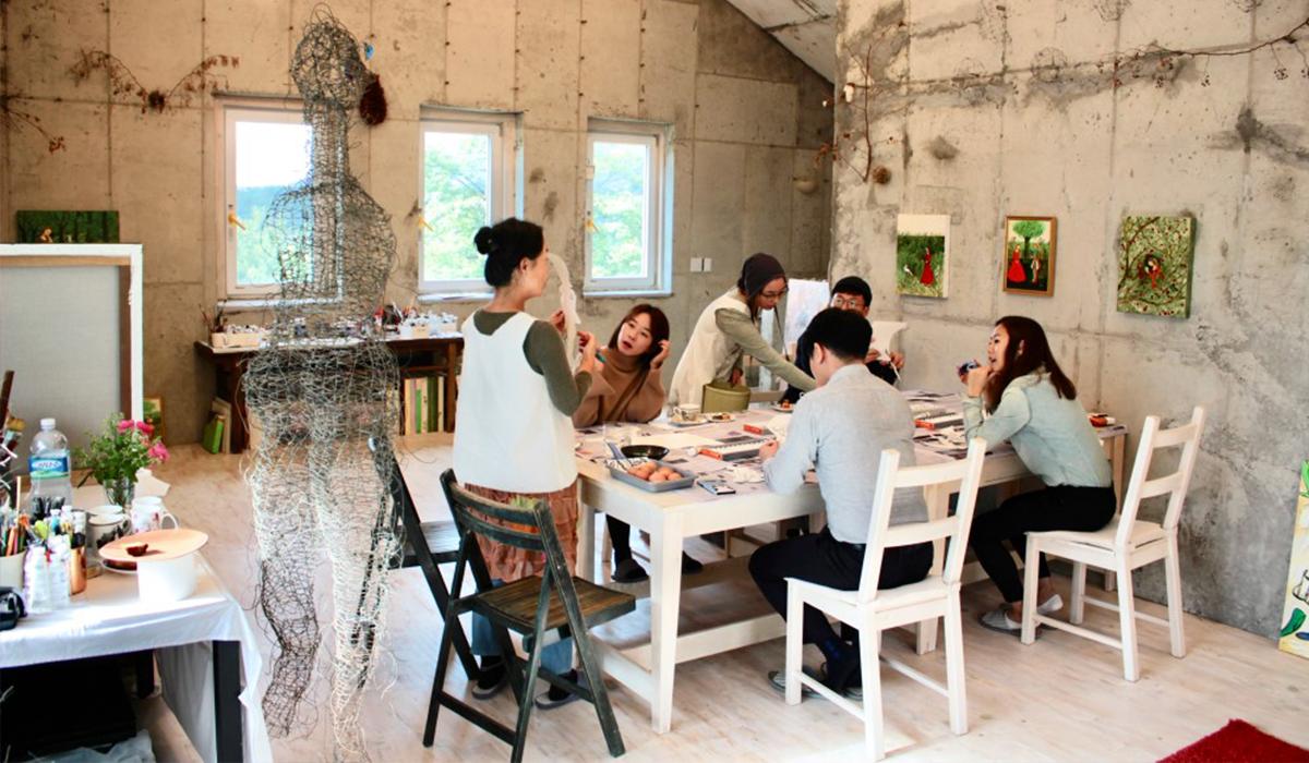 미술가의 작업실에서 그림동화, 정원을 주제로 취향을 나누는 '남의집 그림정원' ⓒ남의집 프로젝트 홈페이지