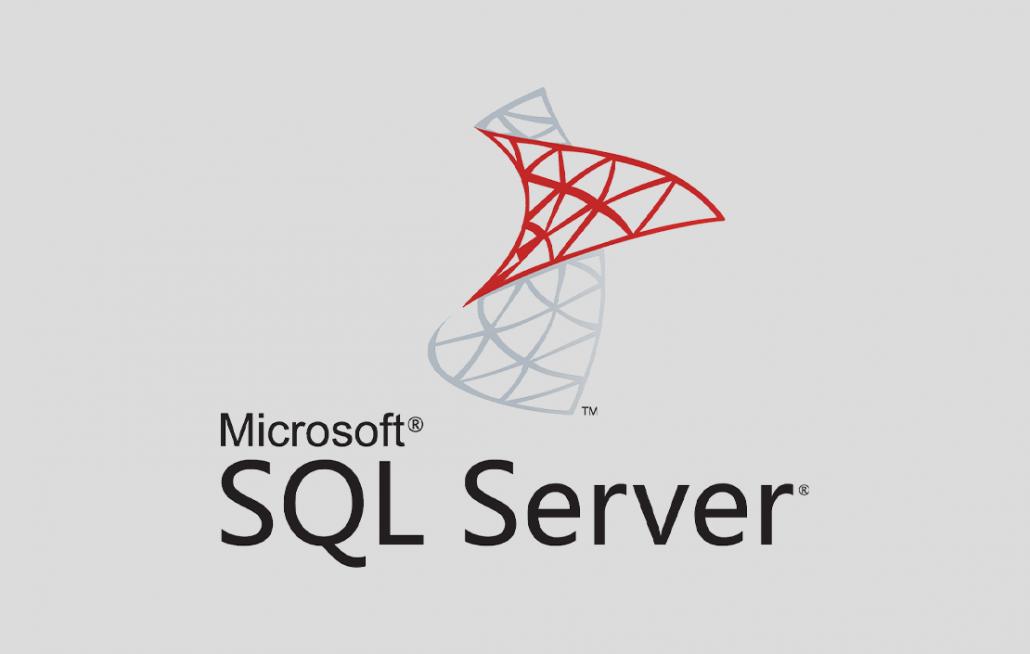 대용량 데이터 추출 SQL Server logo - 데이터분석 인강 추천