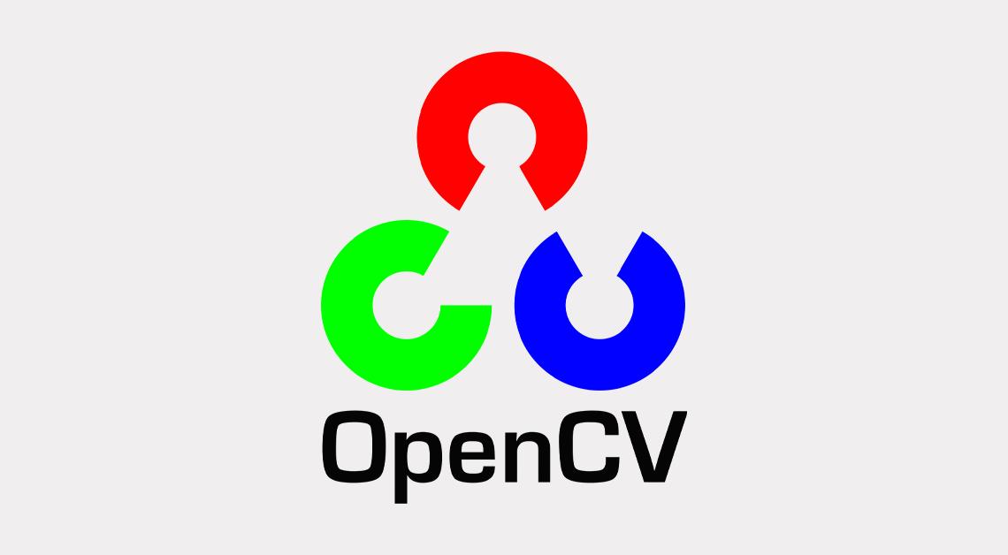 OpenCV 라이브러리 로고